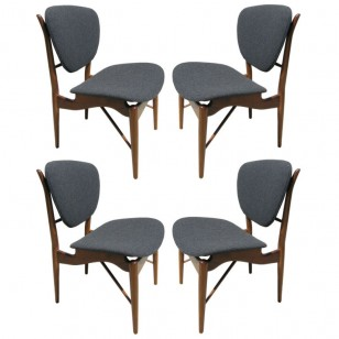 Dining chairs by Finn Juhl