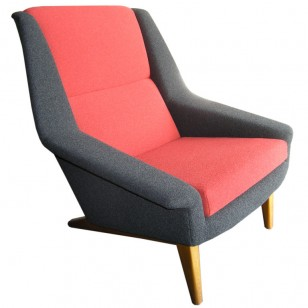 Dux high back armchair