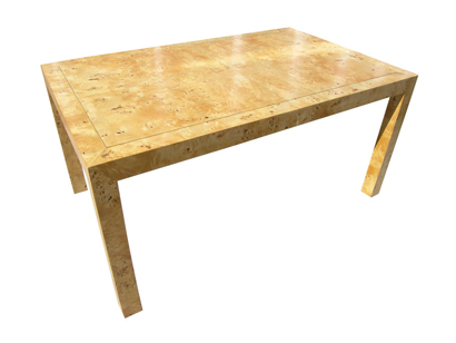 Elm Burl Table by John Stuart