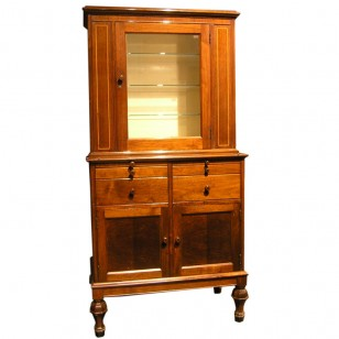 Walnut Medical Cabinet