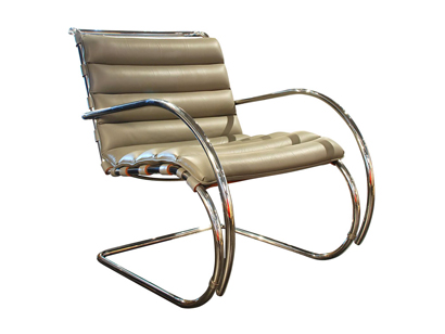 20th century modern furniture mr lounge chair by mies van der rohe