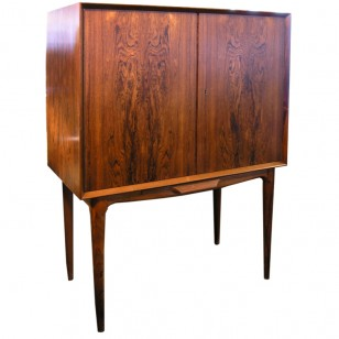 Small rosewood bar