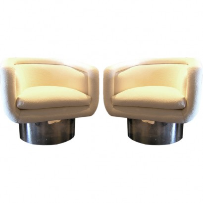 White Pace Swivel chairs