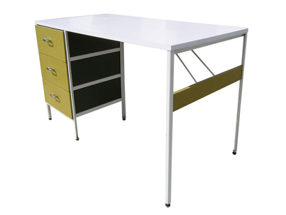 steelframe desk by george nelson for herman miller