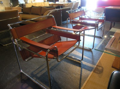 [SOLD] Pair Of Wassily Chairs By Marcel Breuer For Knoll