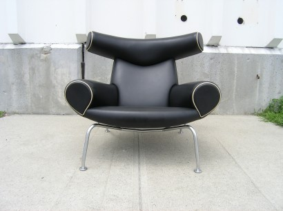 [SOLD] Ox Lounge Chair By Hans Wegner For Erik Jorgensen
