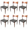Set of 6 chairs by Christian Linnberg