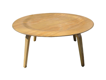 Molded Plywood CTW Coffee Table By Eames For Herman Miller