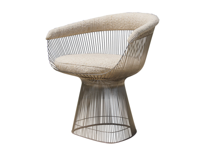 Warren Platner Furniture For Warren Platner Armchair For Knoll Machine Age New Englands Largest Selection Of Mid20th Century