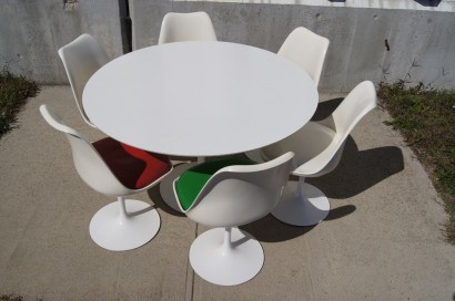 Machine Age New Englands Largest Selection Of Midth Century - White tulip table 48