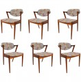 Set of Six Z Dining Chairs by Kai Kristiansen