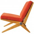 Scissor Chair by Pierre Jeanneret for Knoll