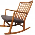 ML-33 Rocker by Hans Wegner for Mikael Laursen