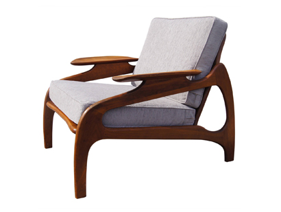 [SOLD] Model 1209C Lounge Chair By Adrian Pearsall For Craft Associates