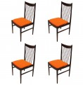 Set of Four Rosewood Dining Chairs by Arne Vodder