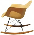 Rope Edge Fiberglass Rocker by Eames for Zenith