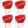 Set of Four Armchairs by Thonet