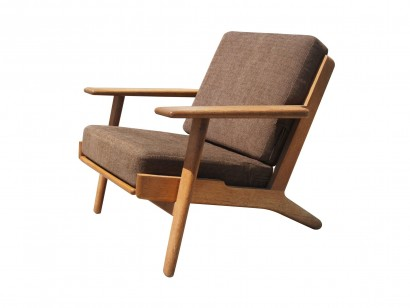 [SOLD]GE 290 Low Back Lounge Chair By Hans Wegner For GETAMA