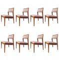 Set of Eight Playboy Side Chairs, Model C240, by Jens Risom