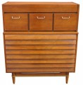 Walnut Dresser by Merton Gershun for American of Martinsville